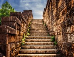 Treppenlift außen